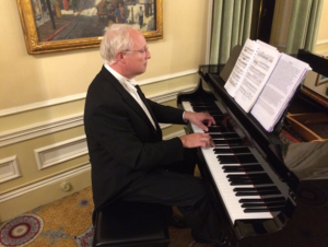 Peter Hicks at the Piano, Sat. Night, Edna Markham